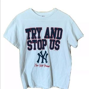 Vintage New York Yankees T Shirt Size Medium